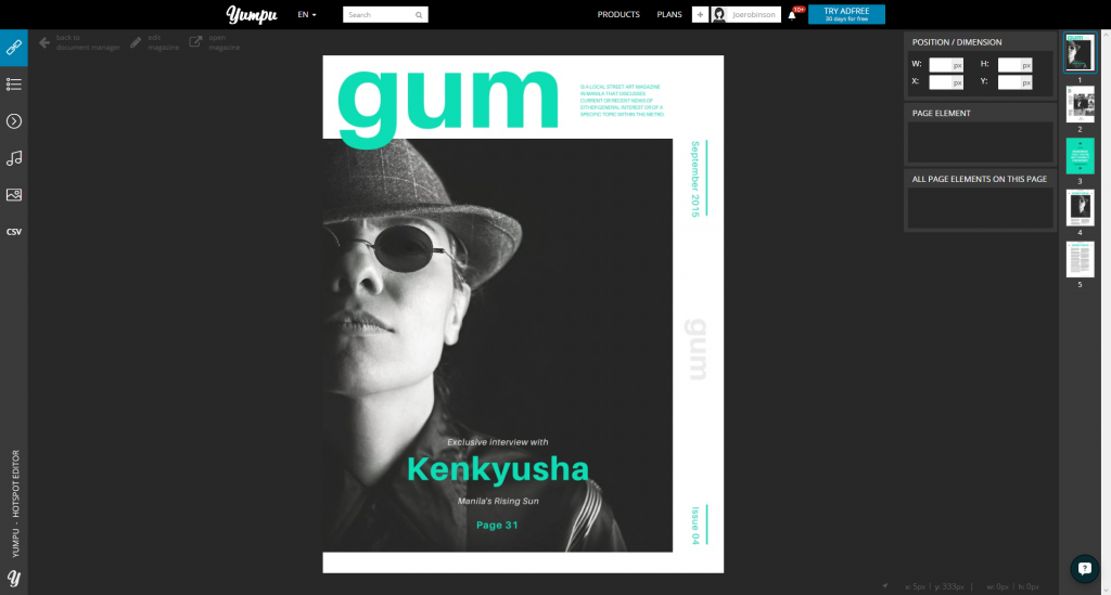 How To Publish An Online Magazine Template